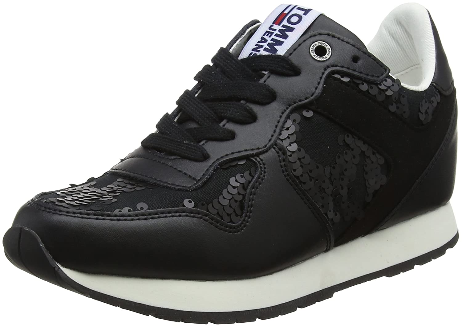 Tommy Hilfiger Tj Wedge Sequin Sequin Sequin scarpe da ginnastica, Scarpe da Ginnastica Basse Donna | Funzione speciale  6b748f