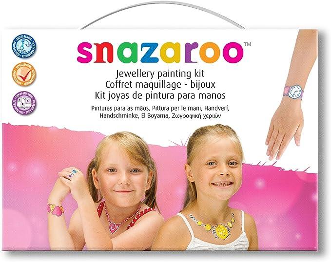 Snazaroo - Kit joyas de pintura para niñas: Amazon.es: Juguetes y juegos