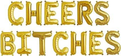Bachelorette Party Decorations Champagne Bottle Labels CHEERS BITCHES Bachelorette Party Bachelorette Party Wine Labels Hen/'s Party,