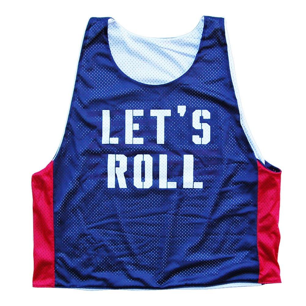 Lets Roll America Lacrosse Pinnie