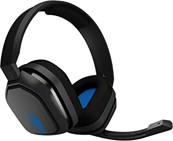 ASTRO Gaming A10 - Auriculares con micrófono y cable compatibles con PlayStation 4, Xbox One, PC, Mac, Negro/Azul: Amazon.es: Electrónica