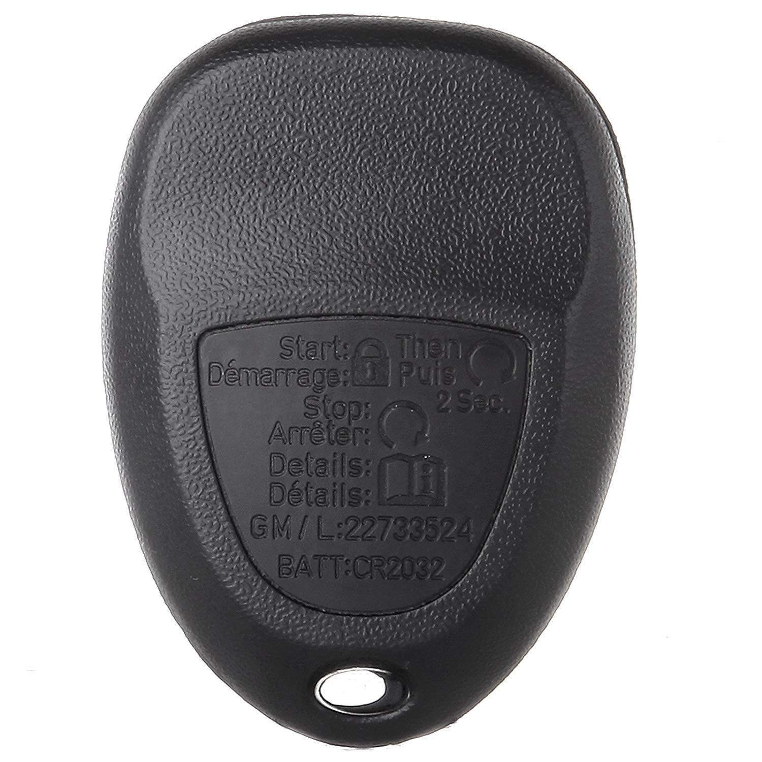 SCITOO Replacement fit for 1PC Keyless Entry Remote Fob Chevy Saturn Buick Pontiac Series KOBGT04A