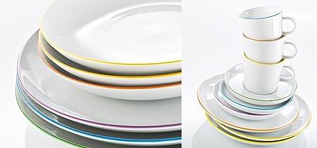 Arzberg Form Cucina Colori 12 Piece Dinner Set (12\u2013Piece Set and Remove) & Arzberg Form Cucina Colori 12 Piece Dinner Set (12-Piece Set and ...