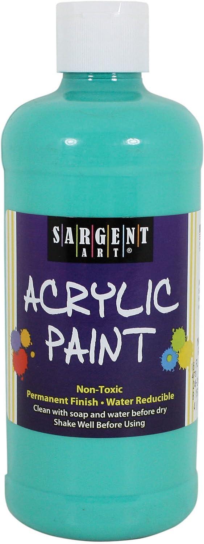 Sargent Art 24-2456 アクリル塗料 16オンス マリングリーン