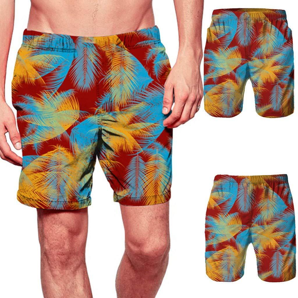 FINENICE Mens Shorts Swim Trunks Quick Dry Beach Surfing Running Swimming Watershort
