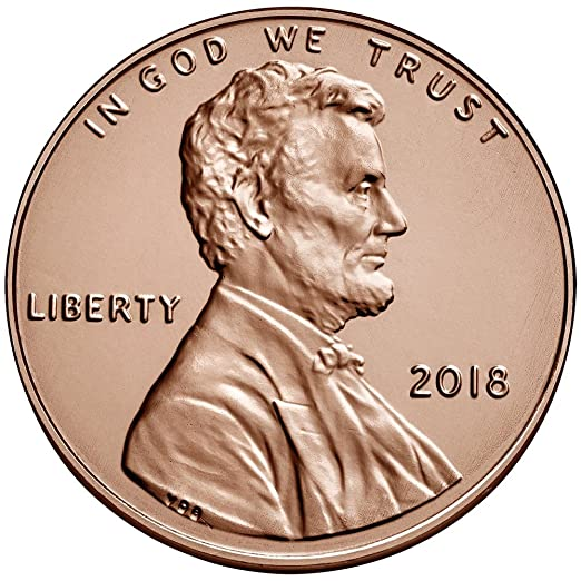 "/""BRILLIANT UNCIRCULATED/"" 2019 D LINCOLN SHIELD PENNY ROLL"