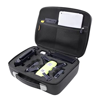 FOSOTO Waterproof EVA Hard Storage Bag Carry Case Box For DJI Spark Drone And All Accessories