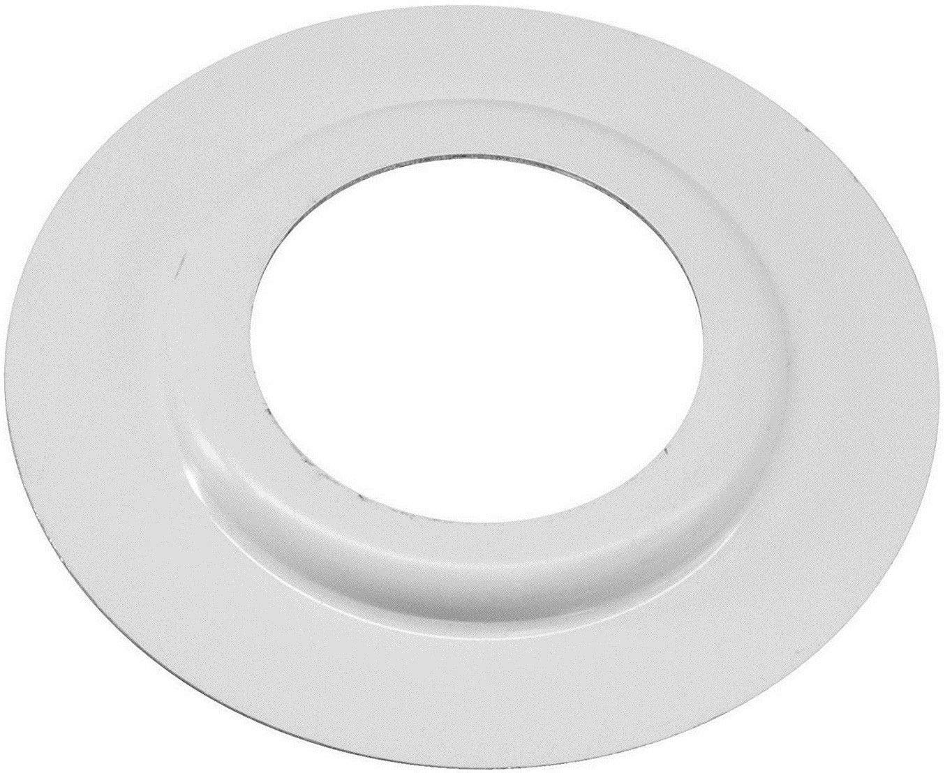 White White//Black Metal Lamp Shade Reducer Plate for ES//E27 to BC//B22 Light Fitting Lampshade Ring Washer Fitter