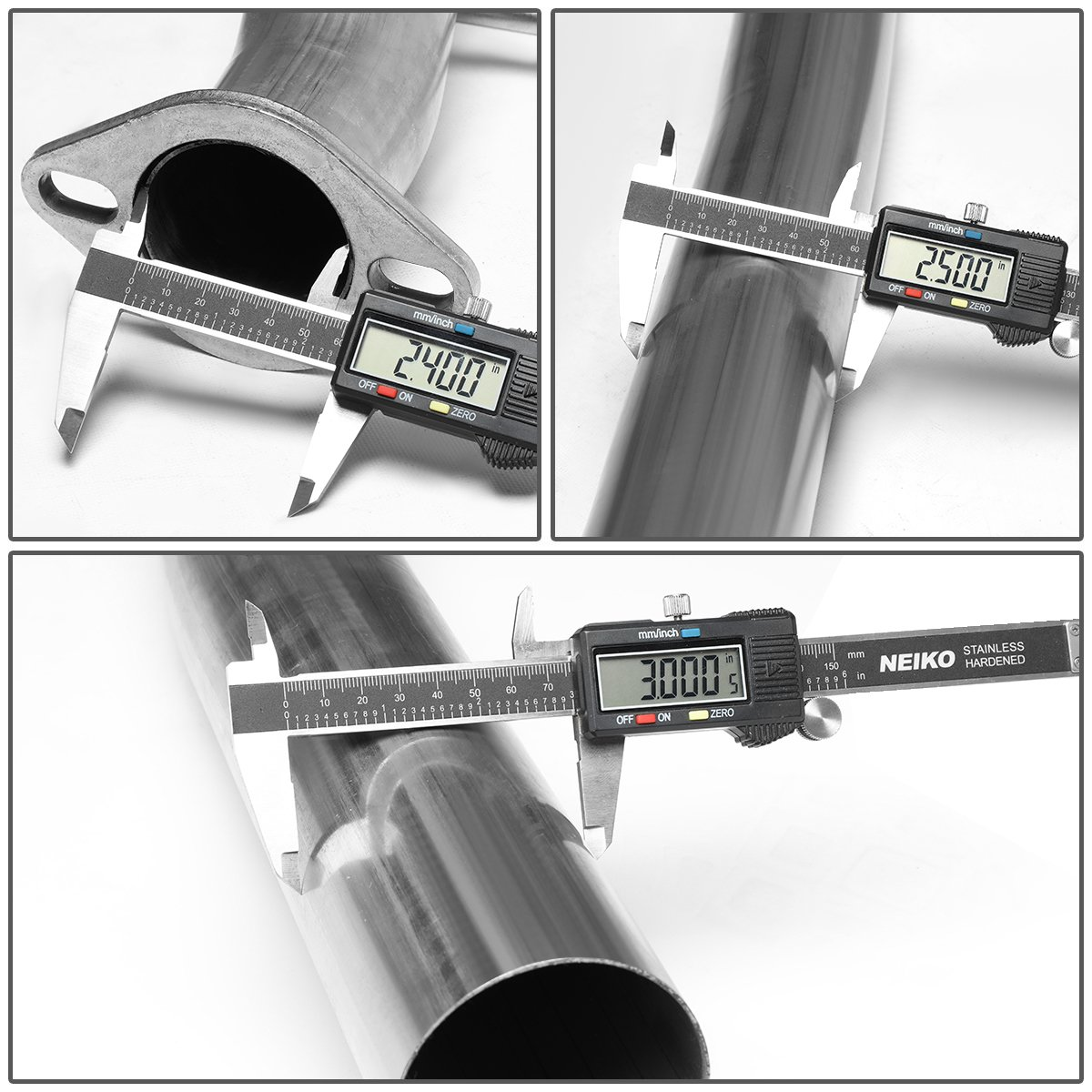2nd gen For 09-17 Tundra V8 2.5 inches Muffler Catback Exhaust System