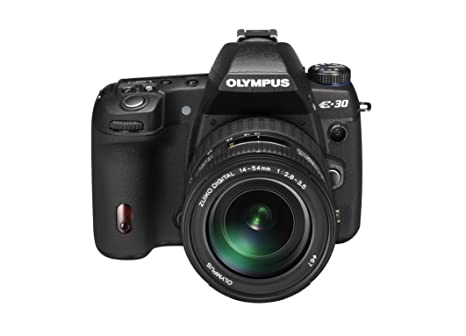 Olympus E-30 - Cámara Réflex Digital 12.3 MP (Objetivo ED 14-54mm ...