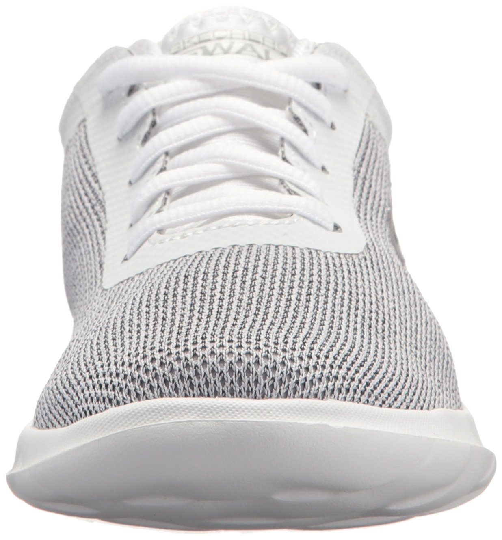 Skechers Women's Go Walk Lite-15360 Sneaker B071KGGJRV 8 B(M) US White