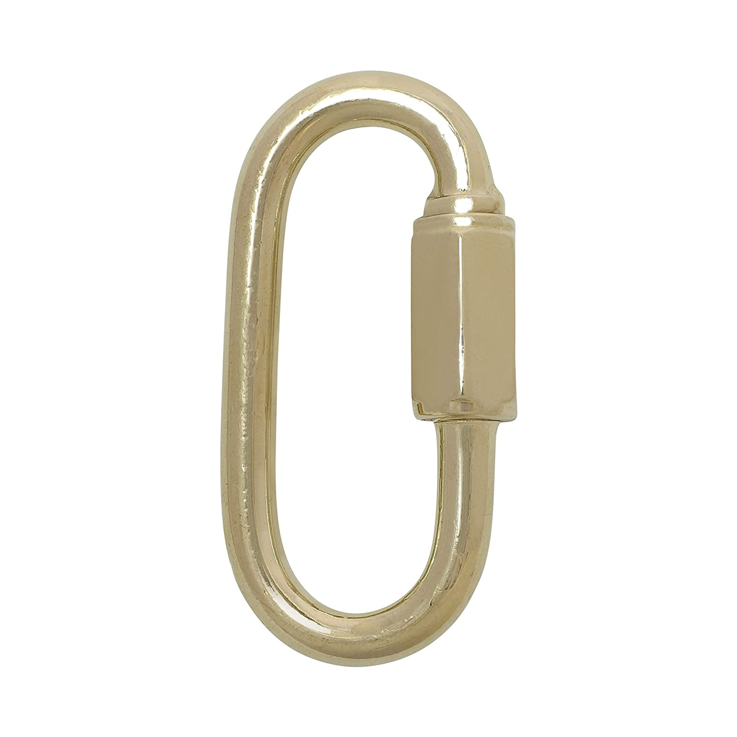 2 Pack 1 Gauge RCH Hardware QL-SS03-75 Stainless Steel Quick Link Polished Brass