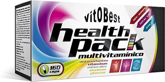 HEALTH PACK 160 Caps. - Suplementos Alimentación y Suplementos Deportivos - Vitobest