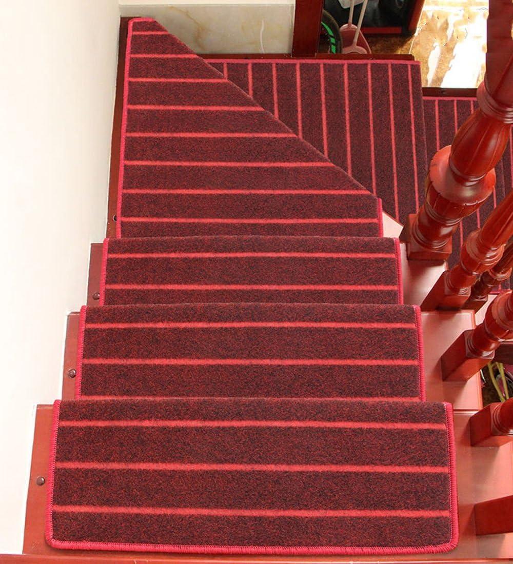ZENGAI Espalda Hebilla mágica con protección Step Mat Escalera Alfombra Paso Pad (Adecuado para escaleras de Cemento/Hierro) Antideslizante Resistente al Desgaste, 6 Colores: Amazon.es: Hogar