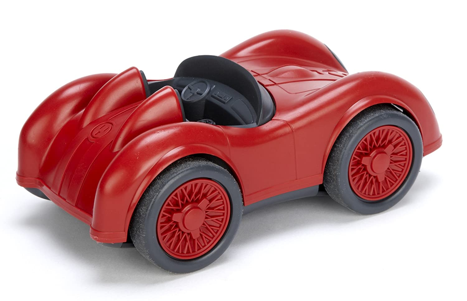 Amazon.com: Green Toys Race Car -Red: Toys & Games