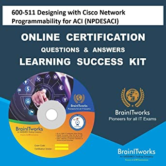 Amazon com: 600-511 Designing with Cisco Network Programmability for