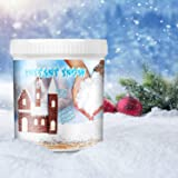 TIME4DEALS Instant Snow Powder for Slime, Fake Snow Makes 5 Gallons of Artificial Snow, for Colorful Slime, Science Activities, Parties & Decorating