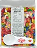 Jelly Belly - 1 Pound Bag, Fruit Bowl Jelly Beans - with By The Cup Portion Control Jelly Bean Scoop