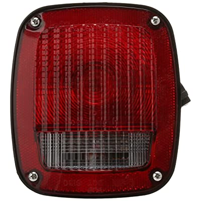 Grote 53782 Ford Stop Tail Turn Box Light (RH w/ License Window): Automotive