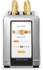 Revolution Cooking R180 High-Speed 2-Slice Stainless Steel Smart Toaster - The