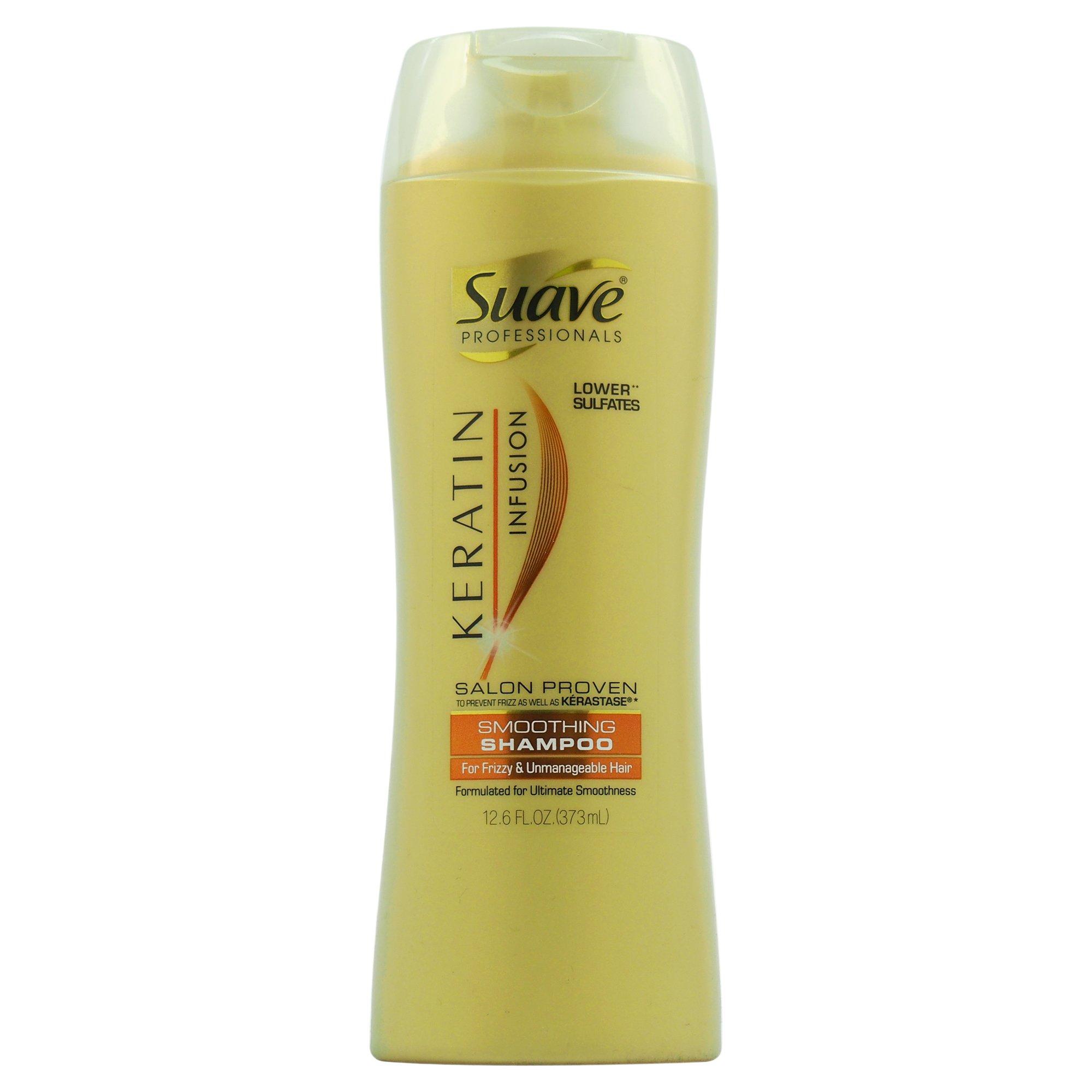 Suave Professionals Smoothing Shampoo Keratin Infusion 12.6 oz