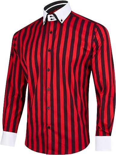 Camisa roja hombre
