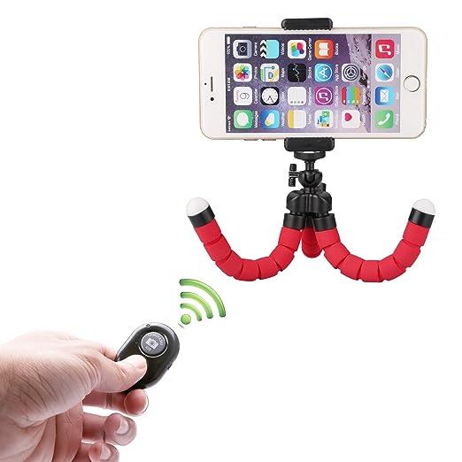 15 opinioni per Mini Cellulare Treppiede Flessibile Smartphone Treppiede con Supporto e
