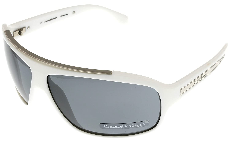 Ermenegildo Zegna Sunglasses Unisex White/Silver SZ3541 4AOS