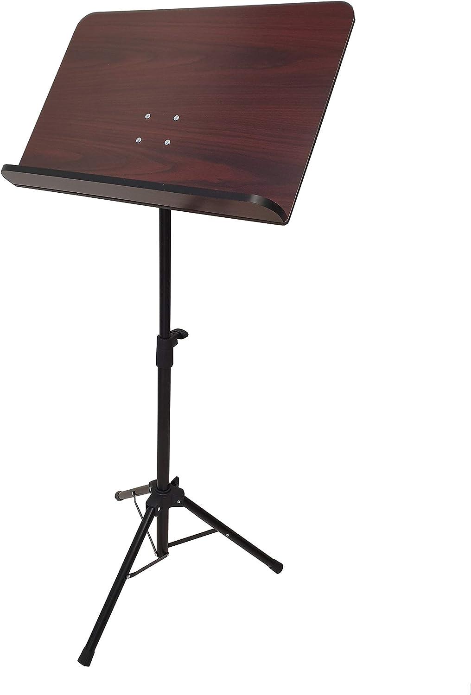 Atril director para orquesta con bandeja de madera LK MUS005 plegable - Rockmusic: Amazon.es: Instrumentos musicales