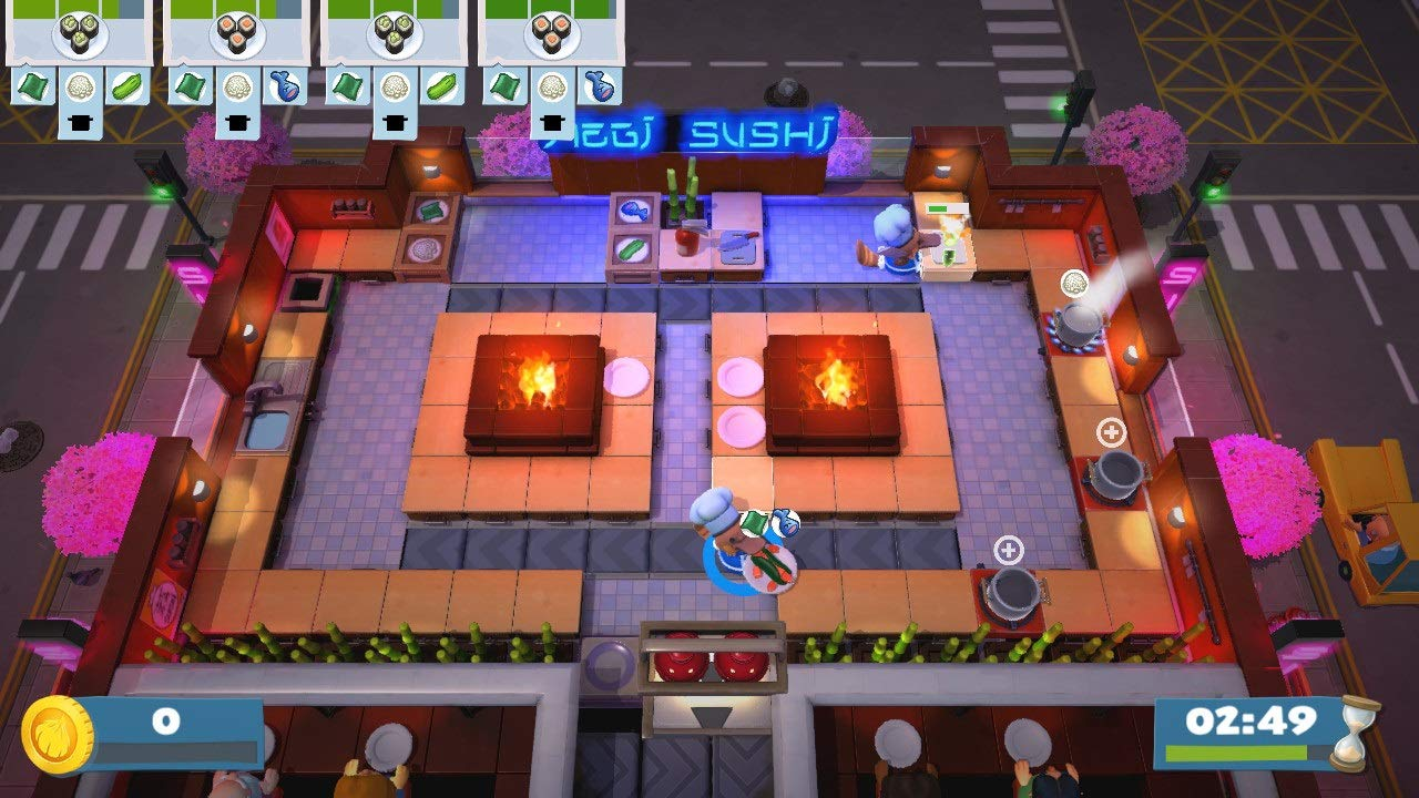 Overcooked! 2 - Too Many Cooks Pack - Nintendo Switch [Digital Code] by Team17 Digital Ltd (Image #5)