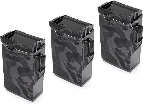 Opinión sobre WRAPGRADE Skin Compatible con dji Mavic Air | 3 Baterías (Black Bumpy Camo)