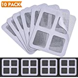 "Window and Door Screen Repair Kit, Self-adhesive Fiberglass Mesh Screen Door Repair Patches, Cover up Holes and Tears, Prevent Mosquito Insects Fly (3.94"" x 3.94"", 10 Pack)"