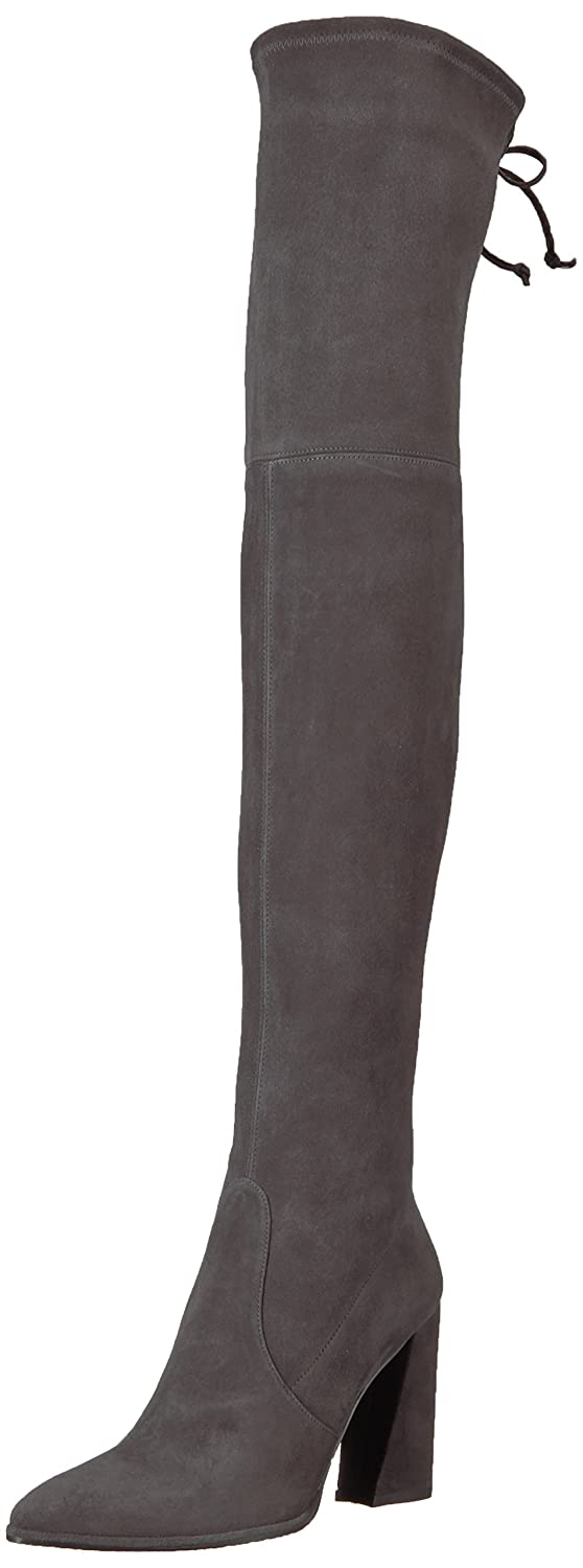 Stuart Weitzman Women's Funland Over The Knee Boot B06W5QVVNP 7.5 B(M) US|Anthracite