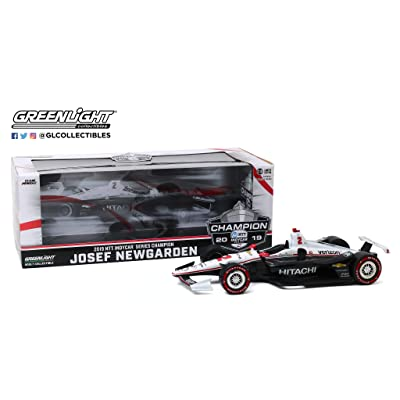 Greenlight Toys 1:18th Josef Newgarden Penske Racing #2 Hitachi 2020 Series Champion: Sports & Outdoors