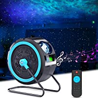 GalaxyPro™ Star Projector, Galaxy Projector Lamp with 7 Colors LED Nebula Cloud Kids Baby Living Bedroom Night Light…