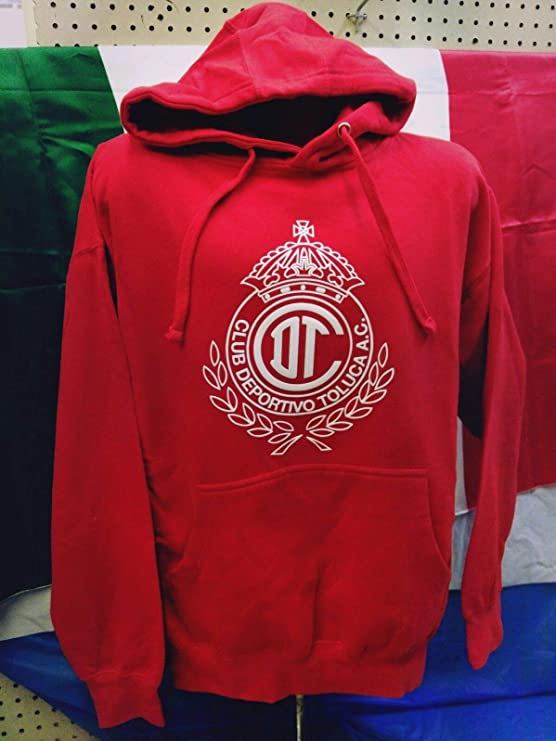 Amazon.com : Full 90 New! Club Deportivo Toluca Kids Hoodie with Pocket : Sports & Outdoors