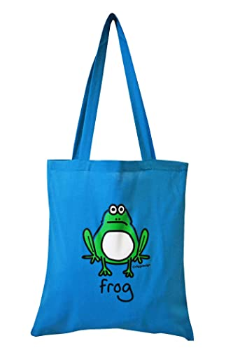 Handmade Frogs Tote Purse Bag