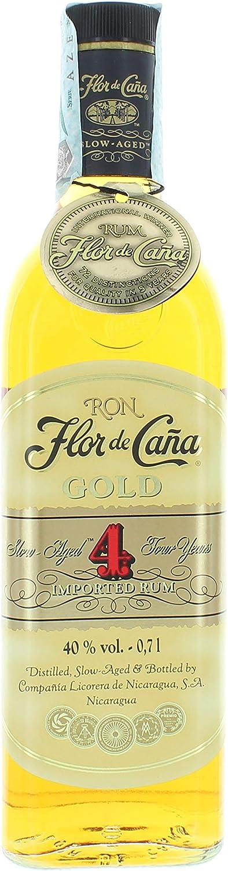 Flor de Caña 4 años Gold: Amazon.es: Alimentación y bebidas