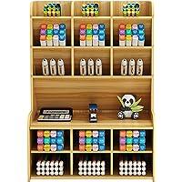 Organizador de mesa de madeira Suporte para caneta de mesa multifuncional Caixa de armazenamento Organizador de…
