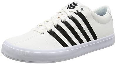Chaussures De Sport K-swiss Tribunal Unisexe Adulte Pro Vulc - Noir - 40 Eu 3uhZ1OfjXb