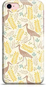 Loud Universe iPhone 8 Case Springs Flamingo Pattern Metal Inforced Wrap Around iPhone 8 Cover