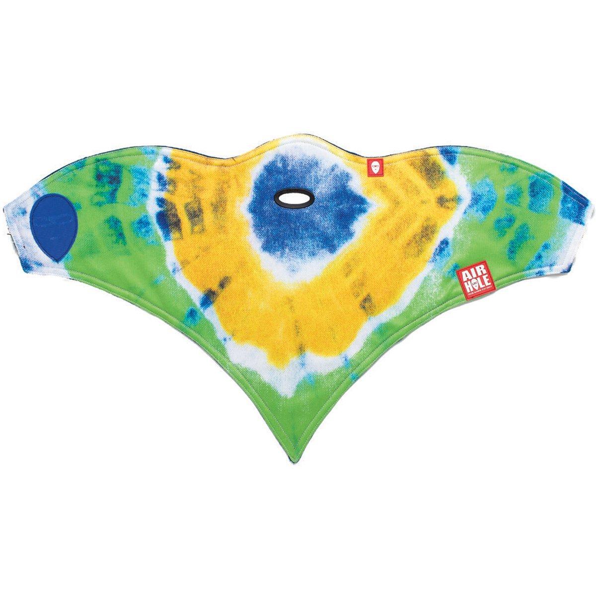 Airhole Children's Standard 1 Facemask, Tie Dye, One Size
