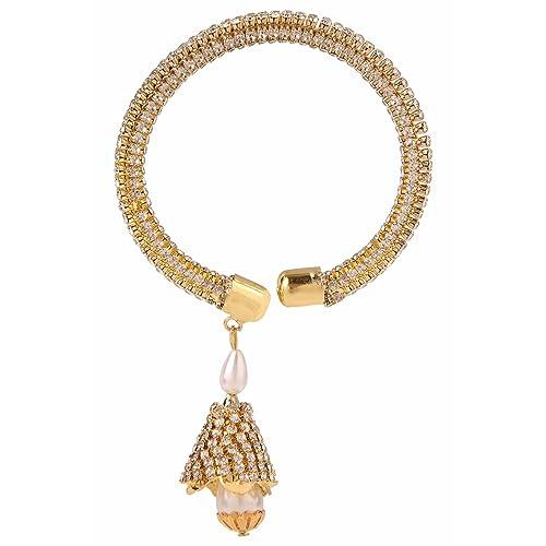 Jewelry & Watches Indian Traditional Bollywood Designer Screw Bangle Kada Bracelet Women Jewellery Engagement & Wedding