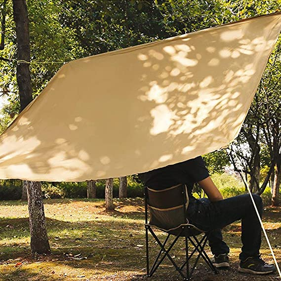 TEEPAO toldo Rectangular para toldo, Resistente a los Rayos UV, para jardín, pérgola, Yarda, Carpa, Acampada, etc.: Amazon.es: Hogar