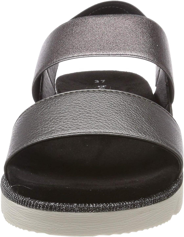 bugatti Damen 431673805900 Slingback Sandalen Grau Dark Grey 1100 qAqHh