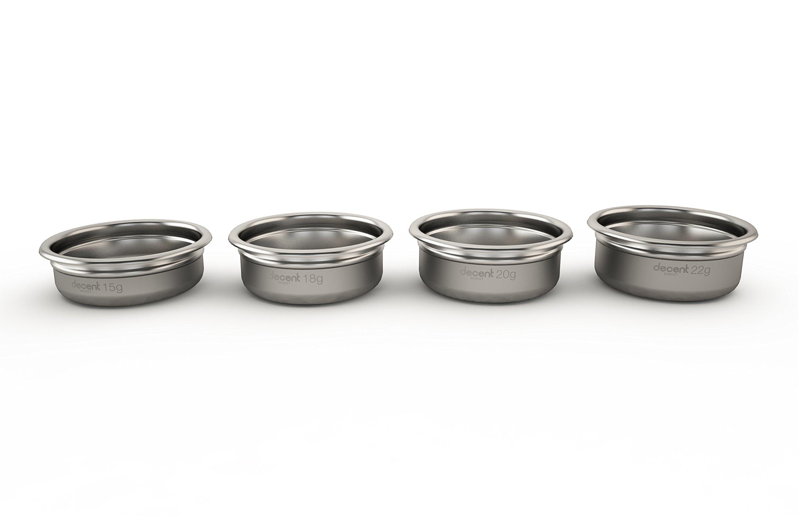 Portafilter Basket E61 58mm (4 most popular sizes: 15g, 18g, 20g, 22g)