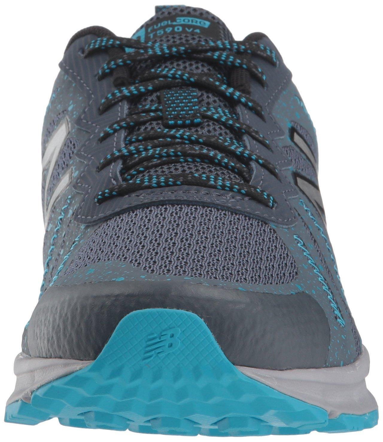New Balance Women's 590v4 FuelCore Trail Running Shoe Dark Grey 6 D US by New Balance (Image #4)