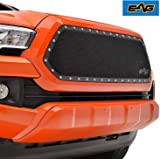 EAG Grille Rivet Stainless Steel Wire Mesh Grill Insert Fit for 2016-2020 Tacoma