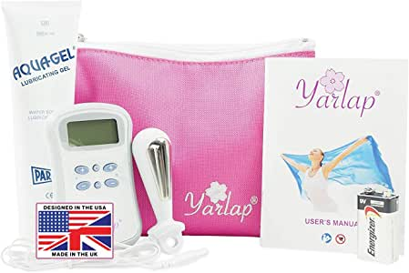 Yarlap Kegel Trainer with AutoKegel Technology | Effortless 20-Minute Workout Pelvic Muscle/Floor Toner & Strengthening for Women | FDA Cleared, Safe Use | An American Company| USA Designed, UK Made