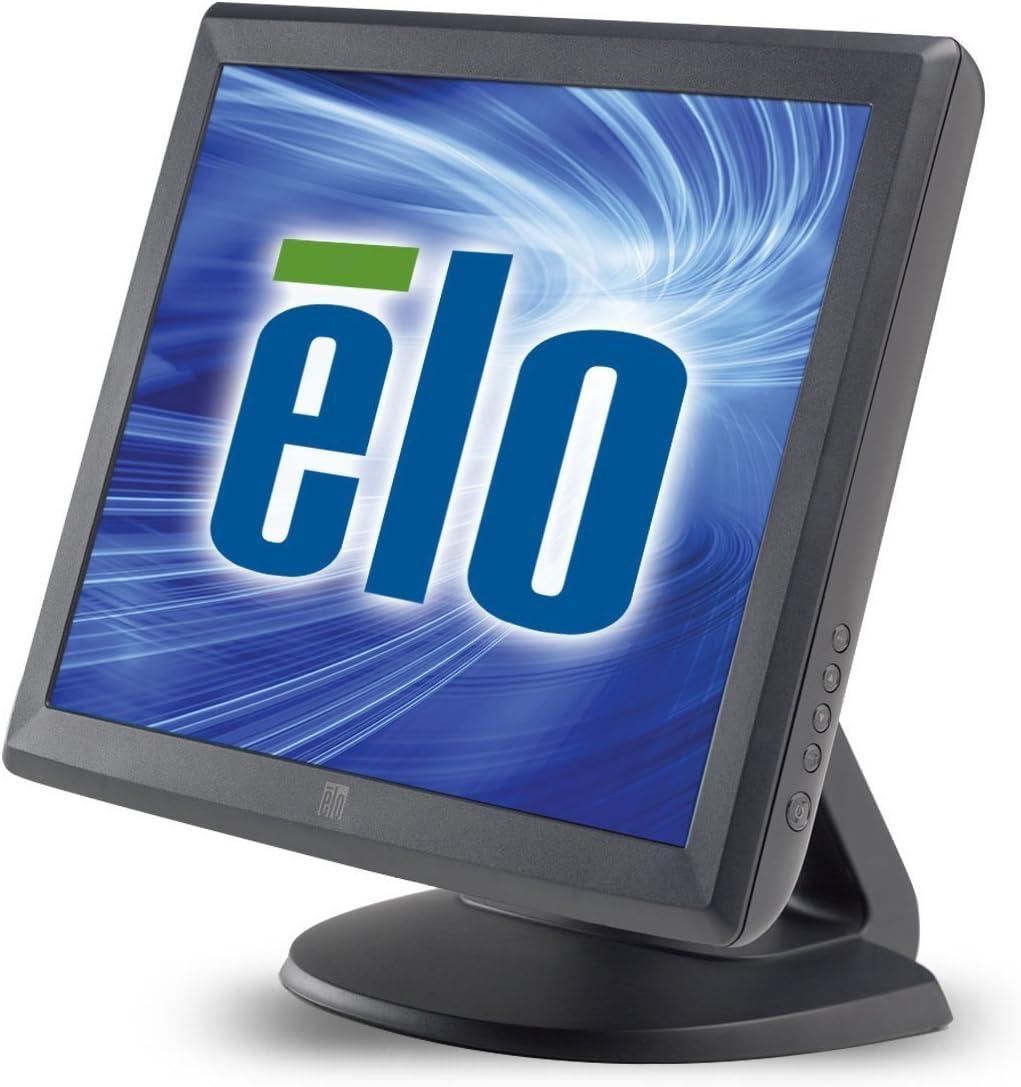 Elo 1515L Desktop Touchscreen LCD Monitor - 15-Inch - Surface Acoustic Wave - 1024 x 768 - 4:3 - Dark Gray E700813 (Renewed)